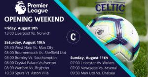 Premiership Schedule