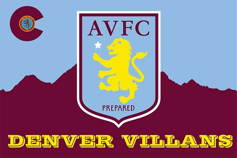 Aston Villa FC Denver Villans Supporters Group Soccer Bar Denver Colorado