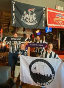 Mile High Magpies Newcastle United Supporters and Fans Soccer Bar Denver