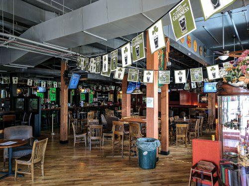 Celtic on Market Interior Irish Bar Denver