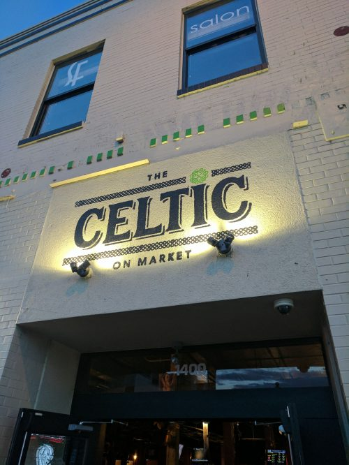 Celtic on Market Front Entrance