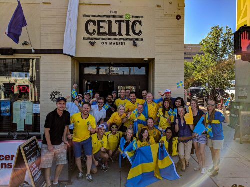 World Cup Watch Party Sweden