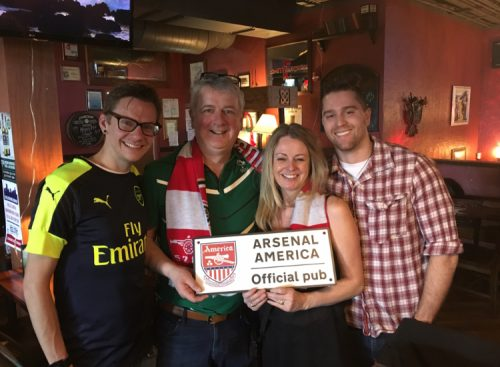 Arsenal America Official Pub Denver gooners Soccer Bar