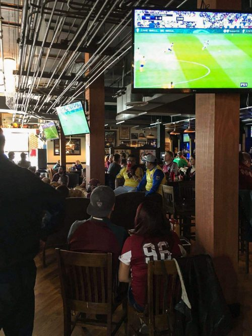 Celtic on Market Upstairs Colorado Rapids watch party